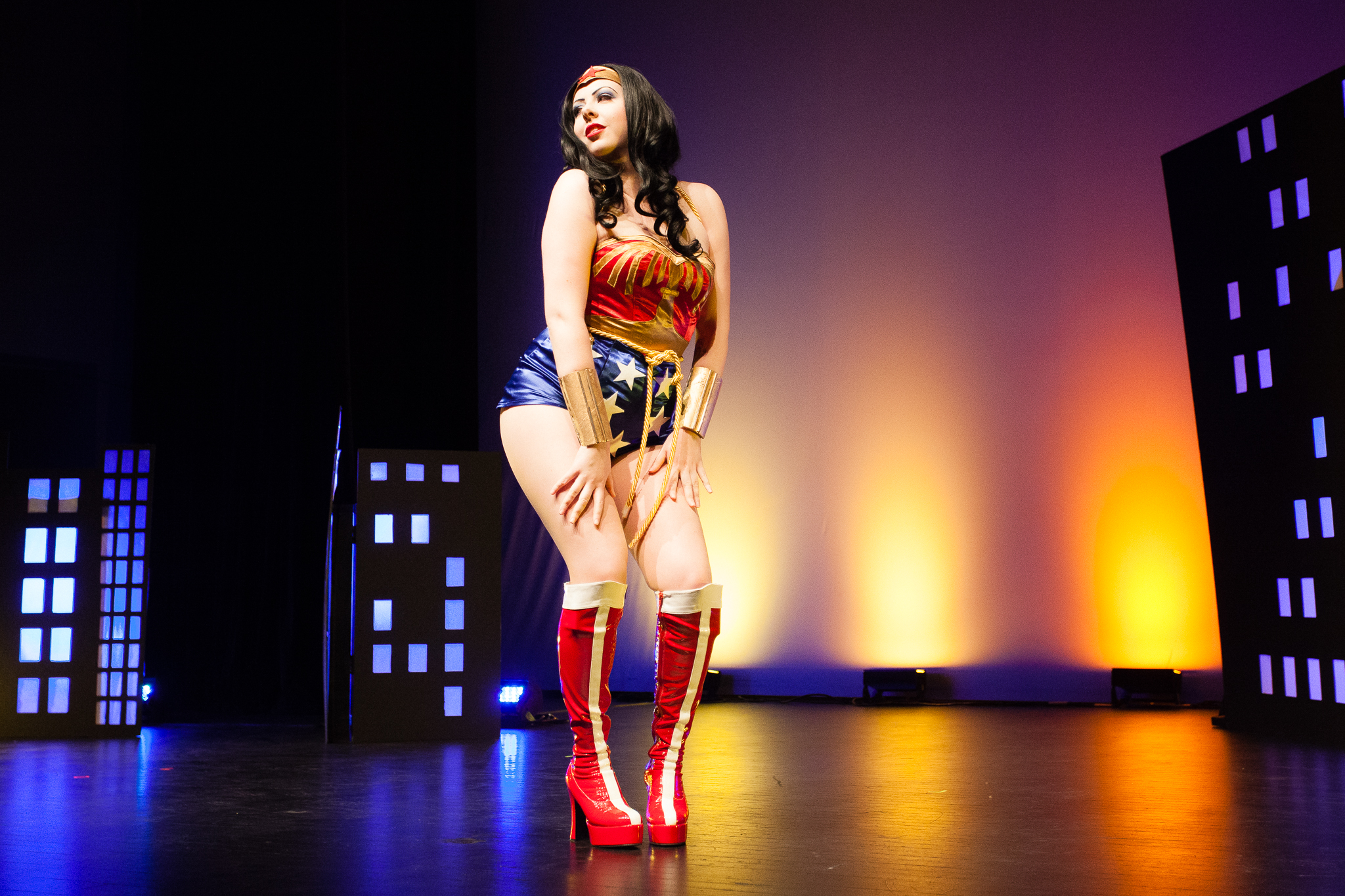 1) Betty Quirk As Wonder Woman (Photo By Craig Symonds)