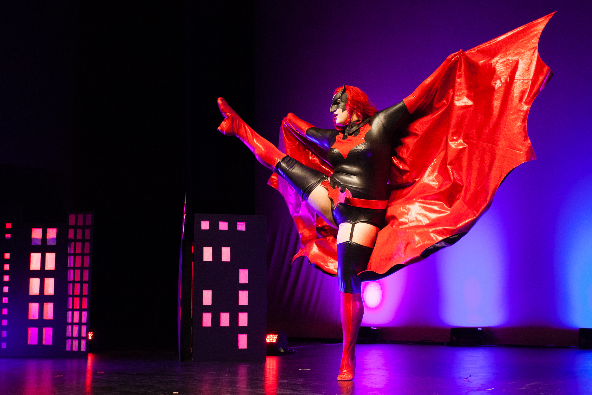 2) Dolly Monroe As Batwoman (Photo By Craig Symonds)