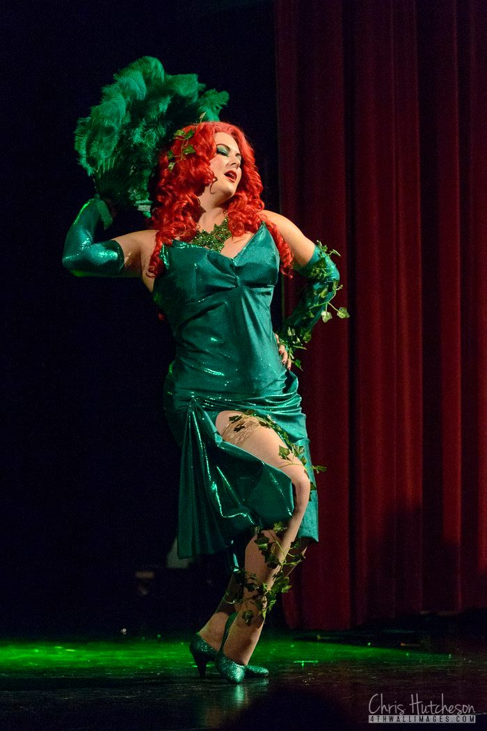 Charlie Quinn as Poison Ivy by Chris Hutcheson