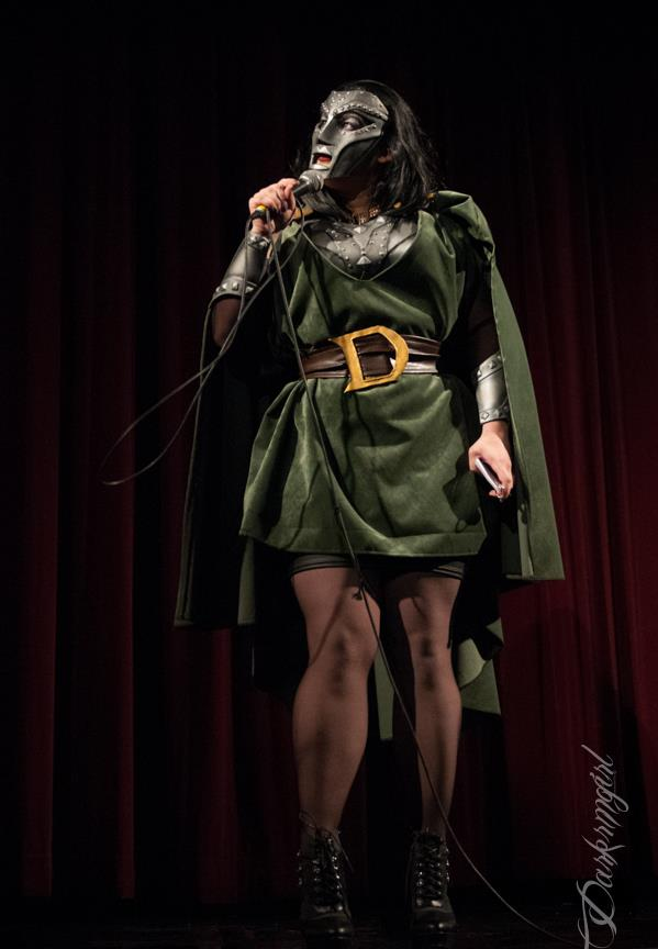 Velvet Valhalla as Dr. Doom by Ruth Gillson