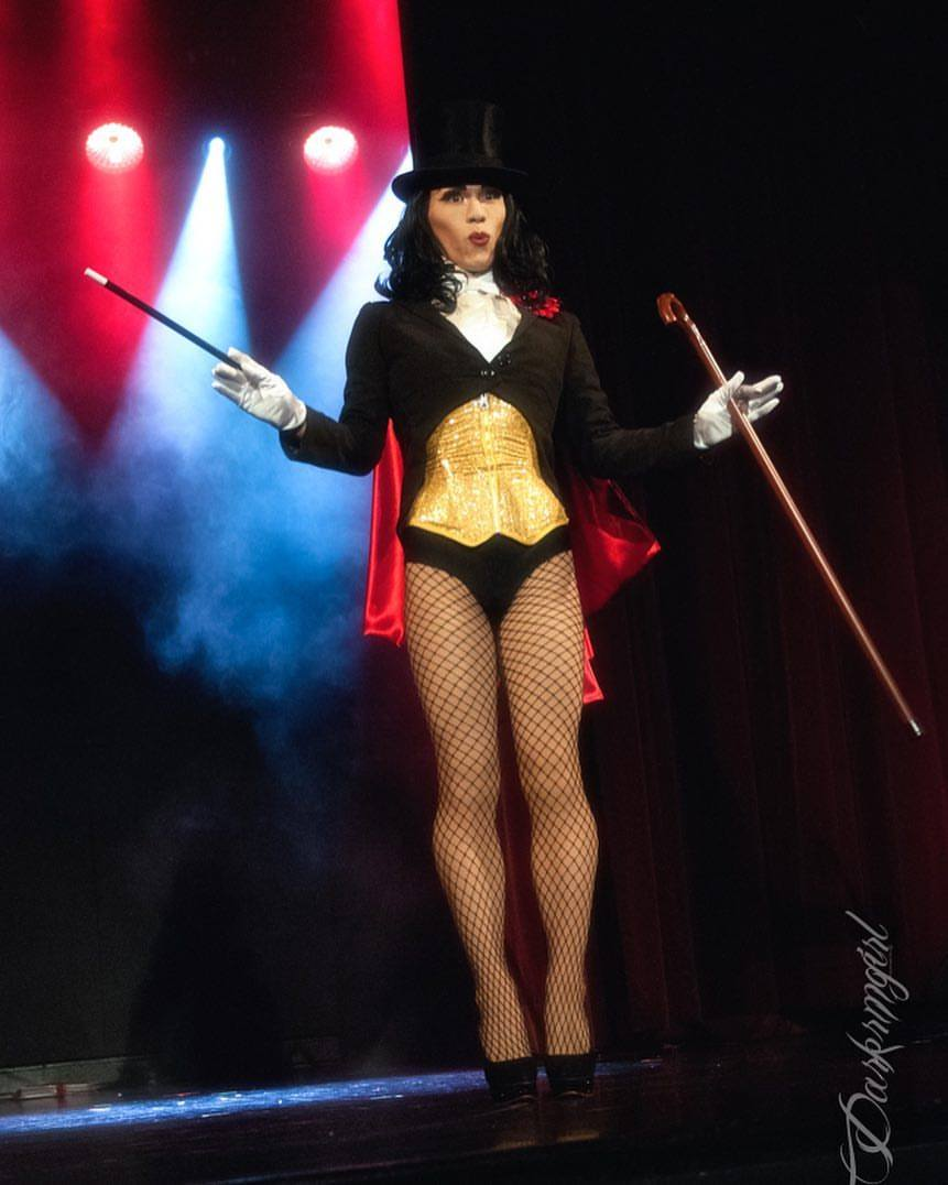 Leelando Calrissian as Zatanna by Ruth Gillson