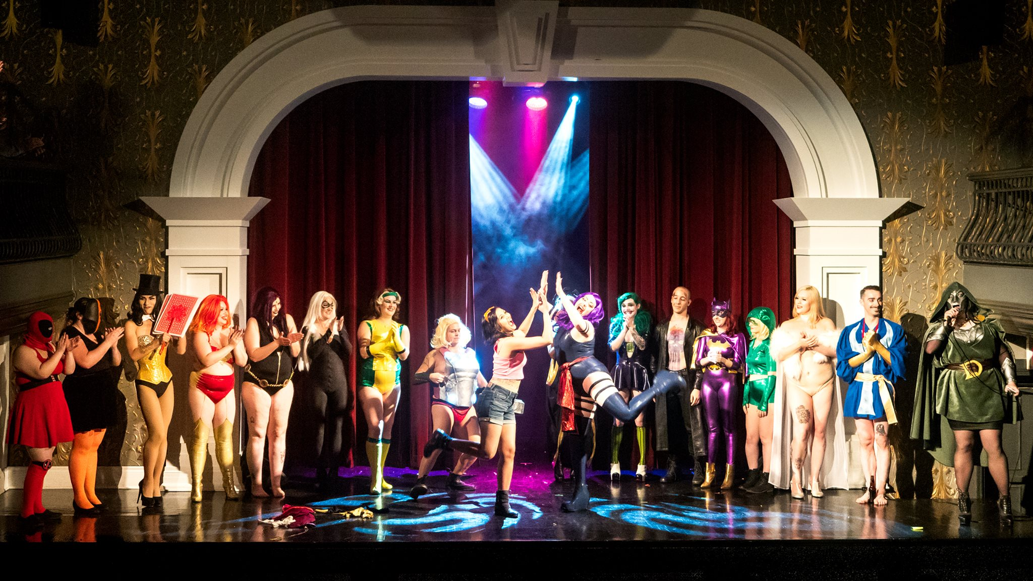 Comic Strip Off Curtain Call by Lick My Lens Cap