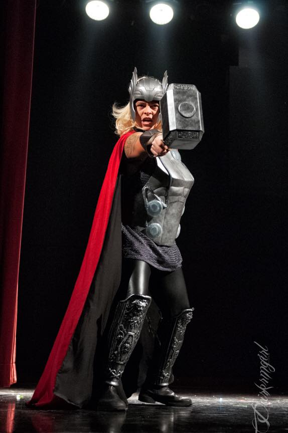 Maximum Capacity as Thor by Ruth Gillson