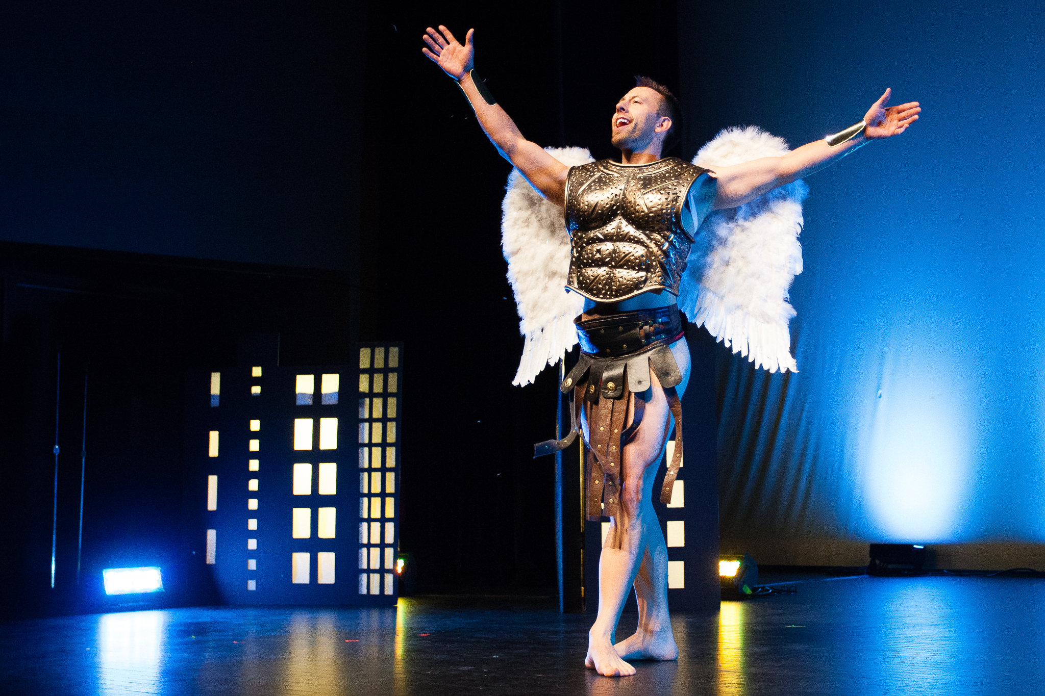 4) Mark The Spark As Hawkman (Photo By Craig Symonds)