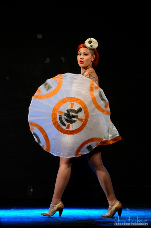Sevvy as BB8 by Chris Hutcheson